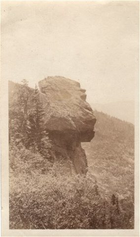 Pulpit Rock at Carter 1923 – Credit: Jack Orrok Album
