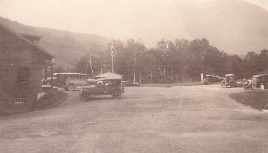 Auto Road at Stage House 1923